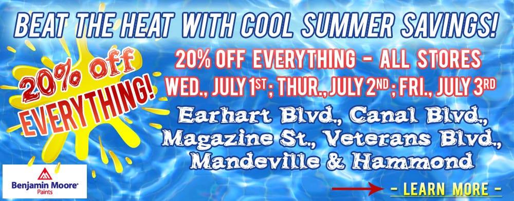 Helm Paint Summer Sale