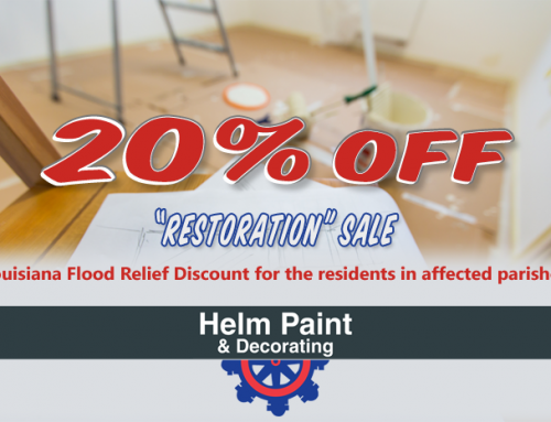 Louisiana Flood Relief Discount