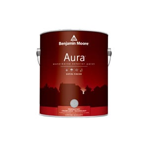 Aura Exterior Paint Satin
