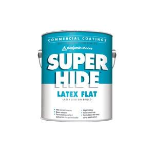 SuperHide by Benjamin Moore – Interior Flat