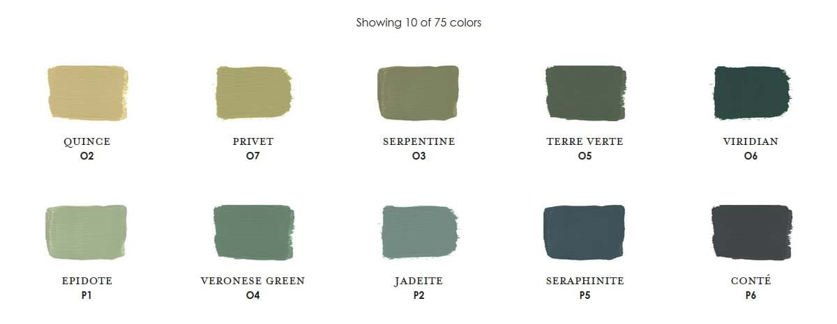 Jade Century Paint Colors