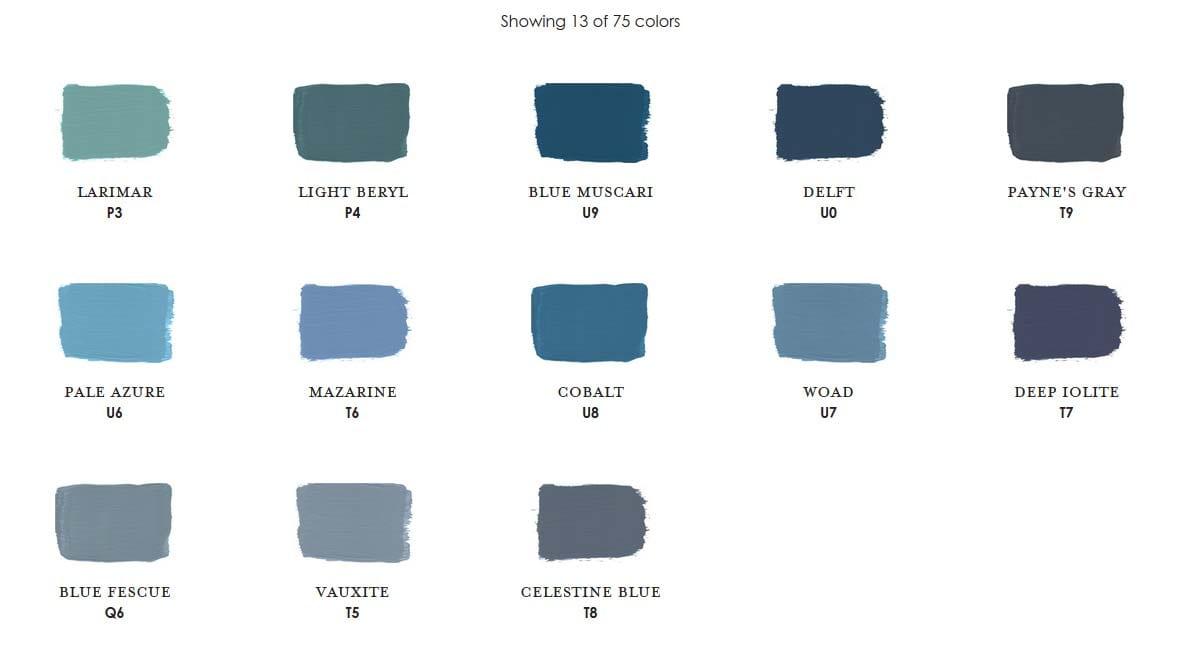 Sapphire Century Paint Colors