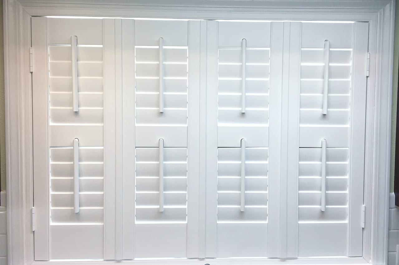 Plantation Shutters, Bathroom window coverings