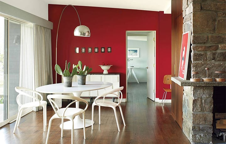 A coat of paint makes a home feel refreshed