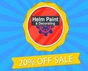 20% Off Helm Spring Sale