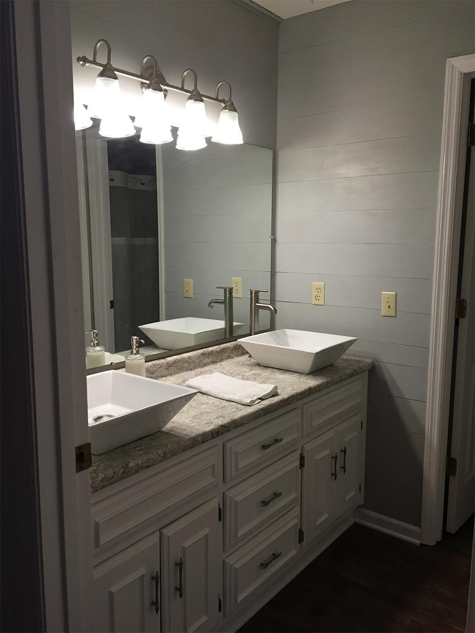 1980's Condo Make Over Bathroom update