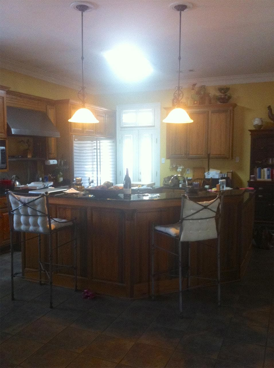 Before Kitchen Island