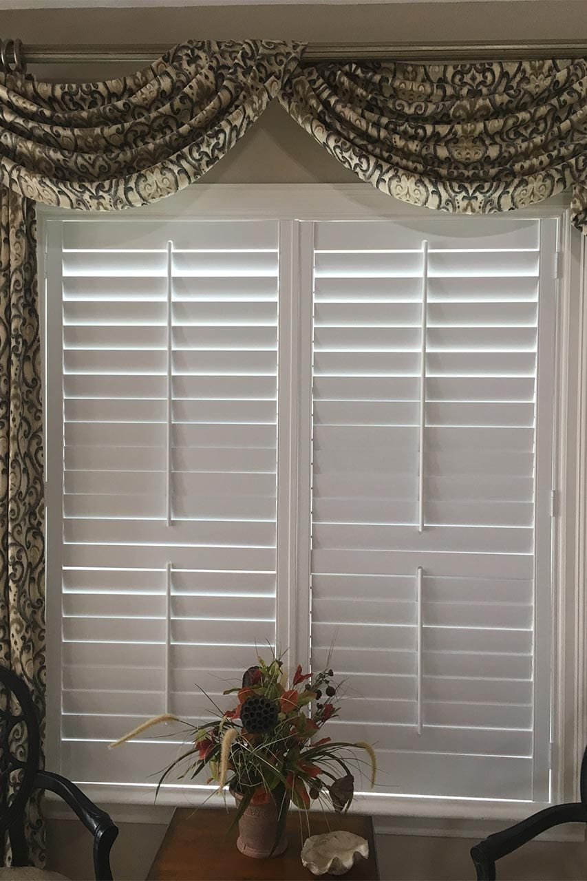 Customized Metairie Plantation Shutter
