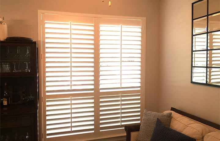 Installed Shutters