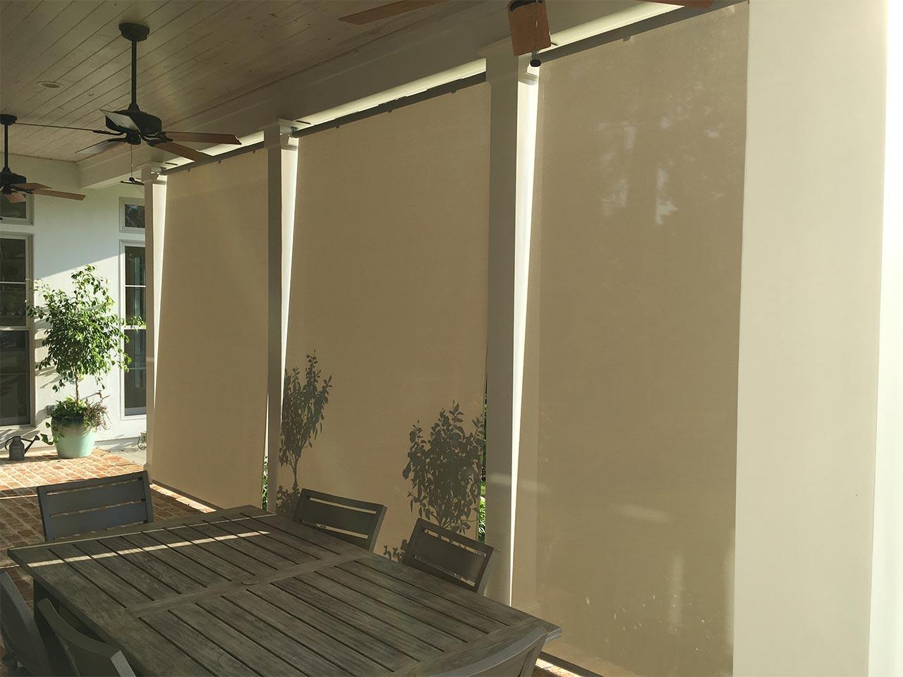 Solar Shades Pearl Gray