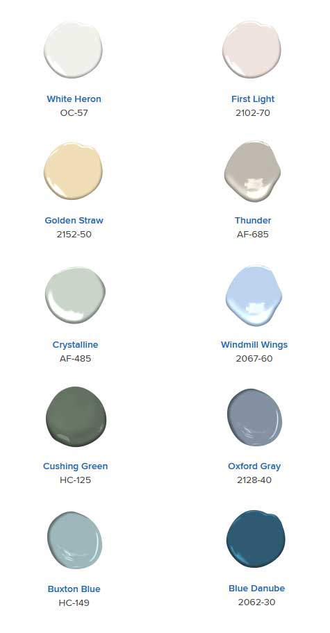 Color Trends 2020 palette and the Color of the Year, Helm Paint