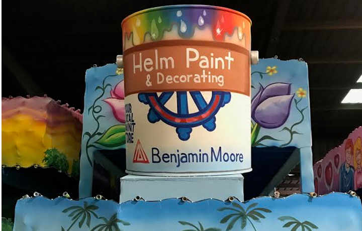 The Helm Paint Krewe | Helm Paint & Decorating Float