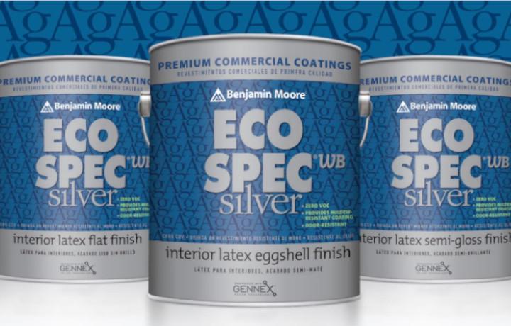 Eco Spec WB Silver - EcoSpec Benjamin Moore paint