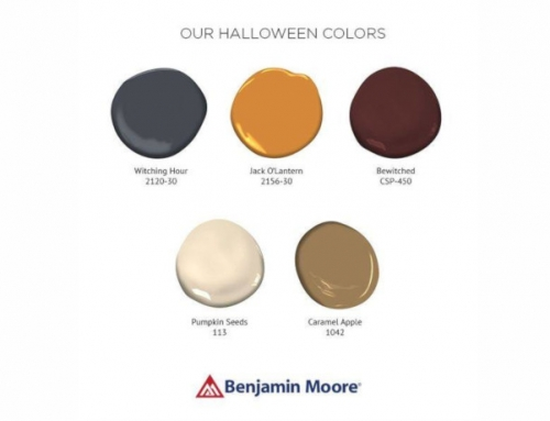 Benjamin Moore Halloween Colors