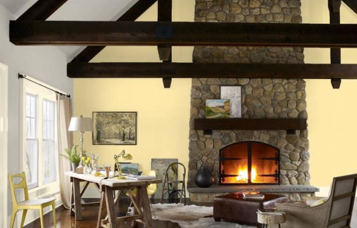 Interior design high ceilings