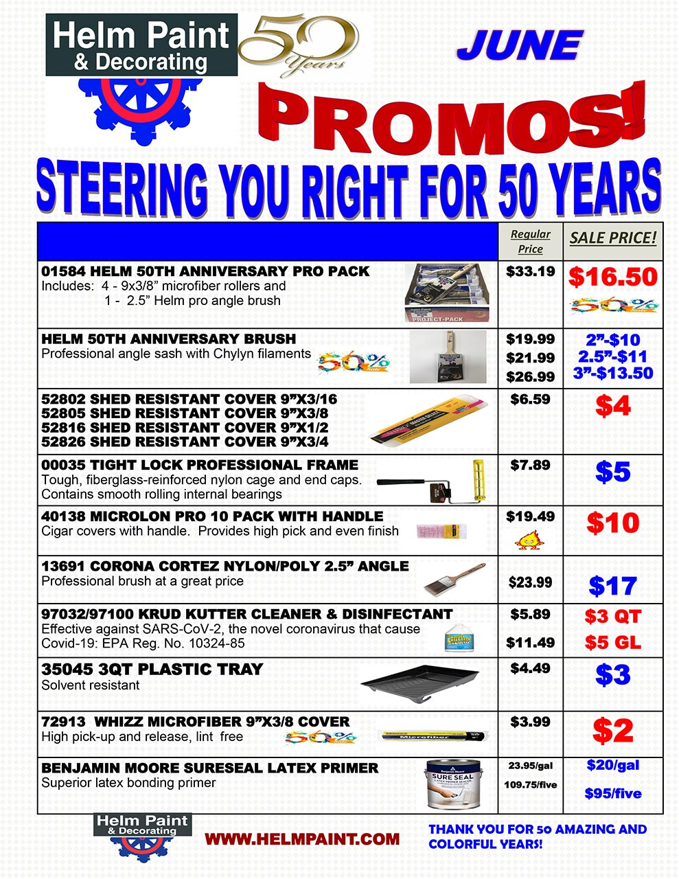 June 2021 Sales Flyer and Special Offers